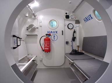 HAUX Diver Treatment Chamber